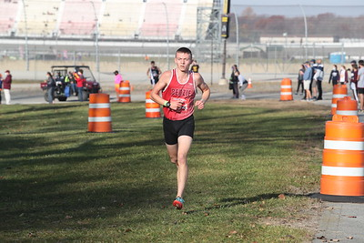 D3 Boys' at 2 Miles Section 1 - 2020 MHSAA LP XC