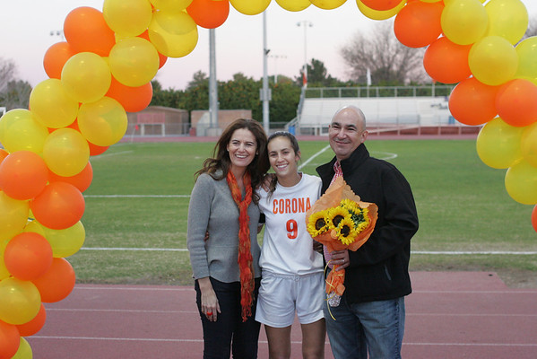 Corona soccer Senior night Camera 2