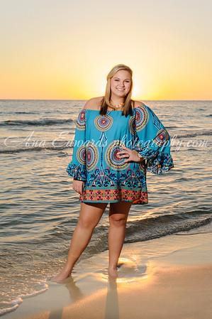 Mallory.  2015 Ola HS Senior  |  Panama City Beach
