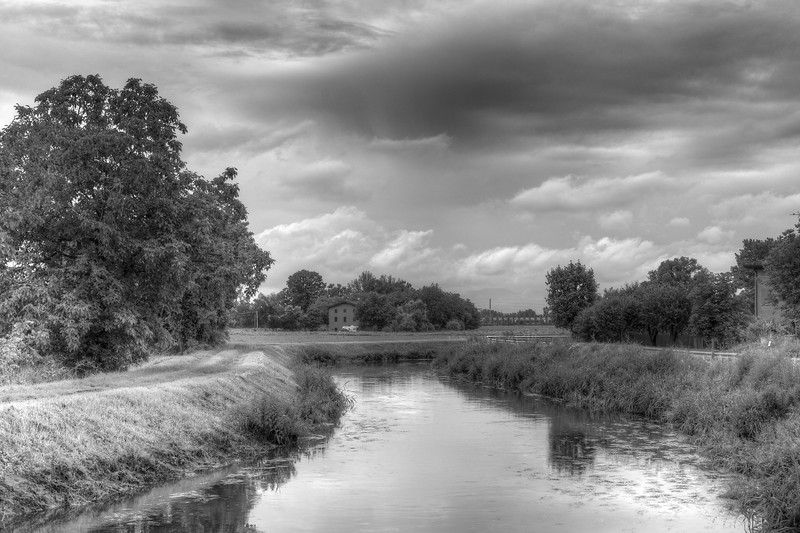 Naviglio Canal - Albareto, Modena, Italy - May 27, 2015