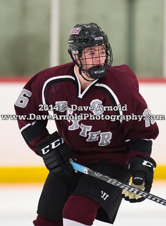 12/03/2014 - Boys Varsity Hockey - Cushing vs Dexter