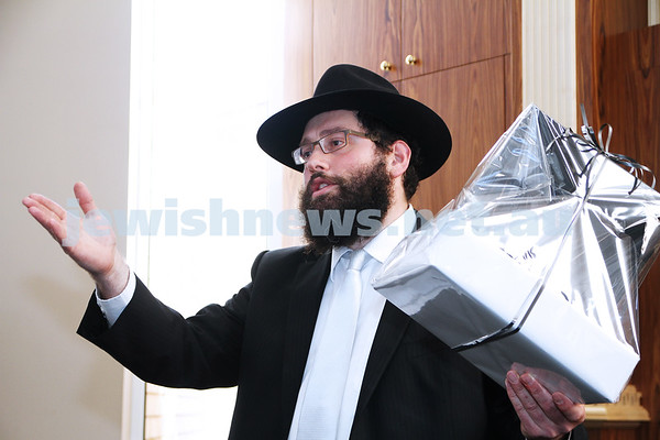 Yehudah Dadon Synagogue opening