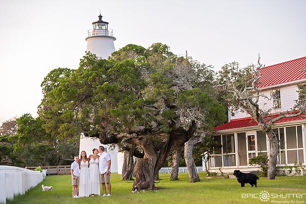Silver Lake Family Portraits, Ocracoke Island, NC
