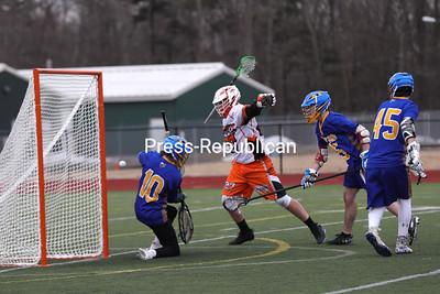 Lacrosse — Plattsburgh High vs. Milton