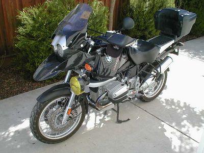 My BMW  R1150GS