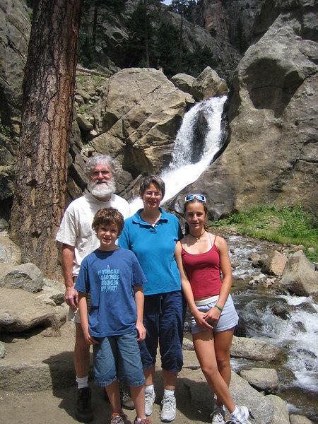 Boulder Falls, Boulder Canyon, Colorado