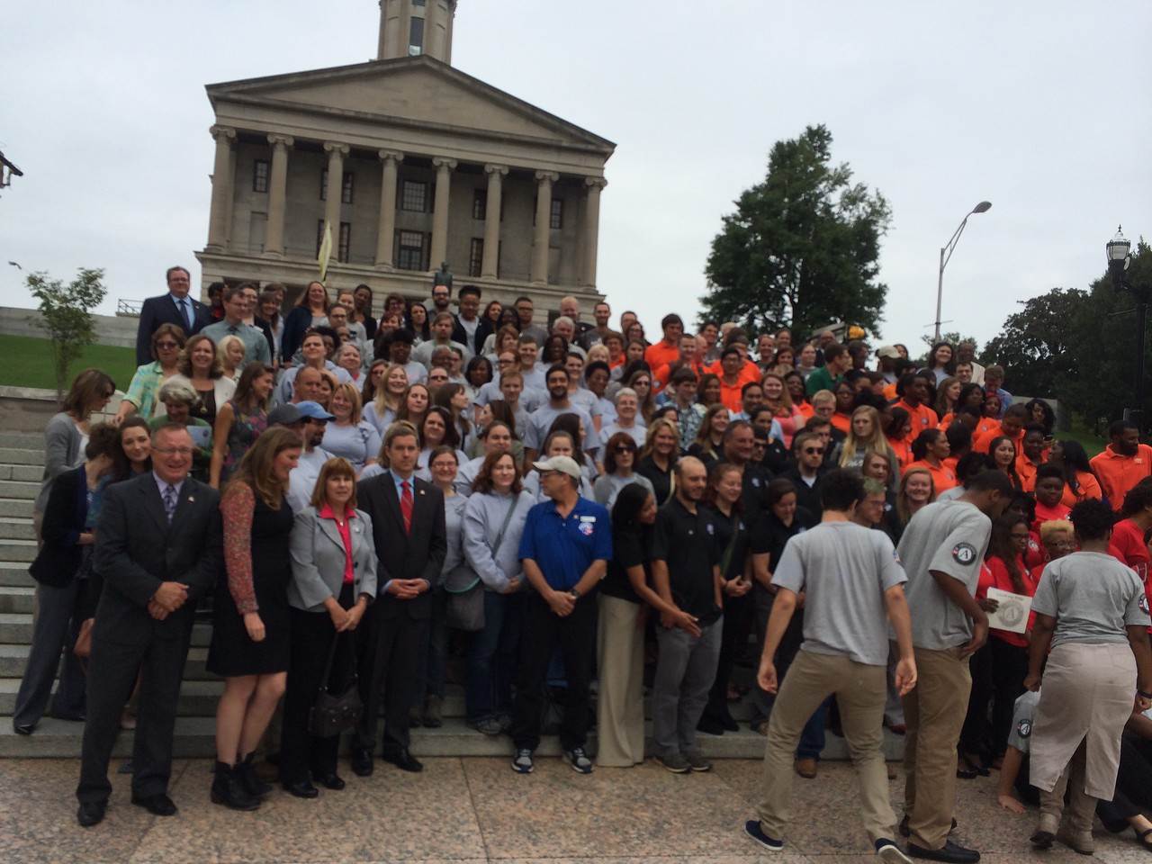 More than 200 AmeriCorps members alumni and supporters participated in Volunteer Tennessee's 20th Anniversary Celebration. Corporation for National and Community Service Photo.