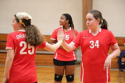 MS Volleyball JV vs Newport 11-27-18