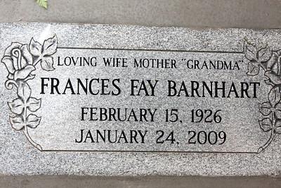 Grandma Memorial 2009-08-15