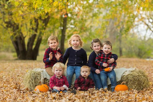 Fall Family Mini Sessions-The Shannon Grandkids