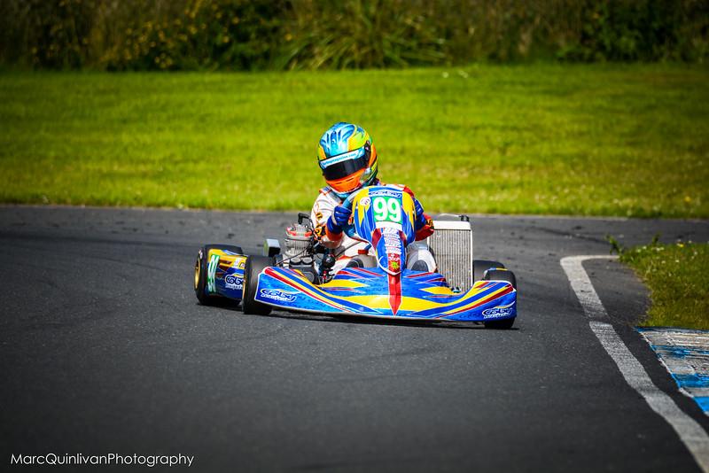 Irish Karting Club C Plate 2016 - Alyx Coby
