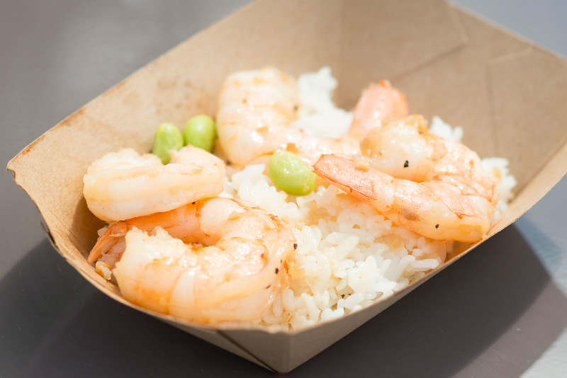 Garlic Shrimp from Japan - Epcot Food & Wine Festival 2016