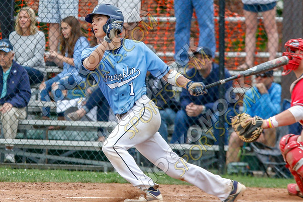 Franklin-North Attleboro Baseball - 05-28-18