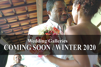 Coming Soon / Winter 2020 / Wedding Galleries