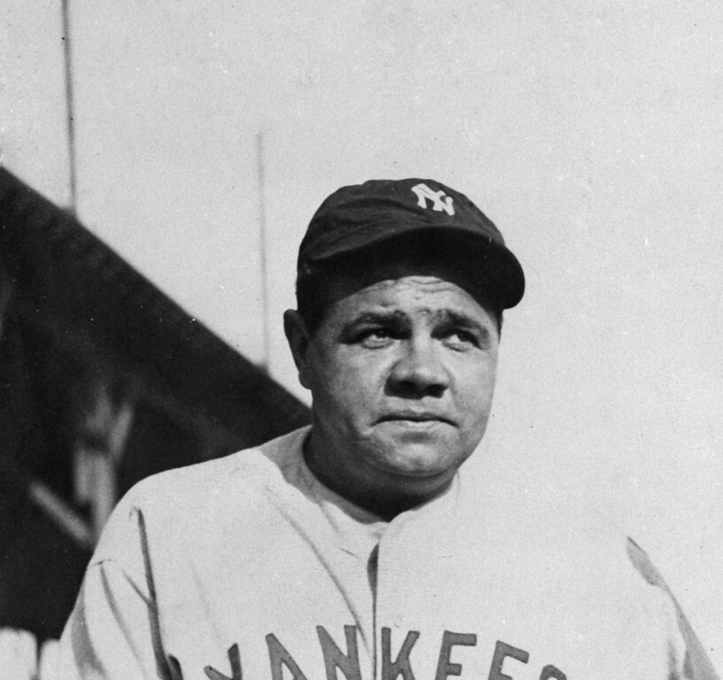 . Babe Ruth is seen in an undated photo.  (AP Photo)