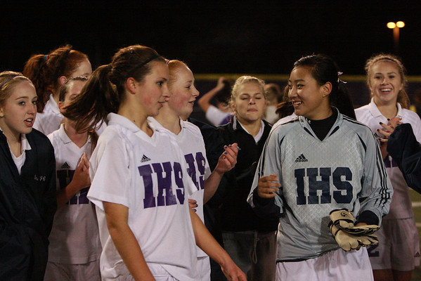 2008-10-23 IHS Girls Soccer vs Garfield
