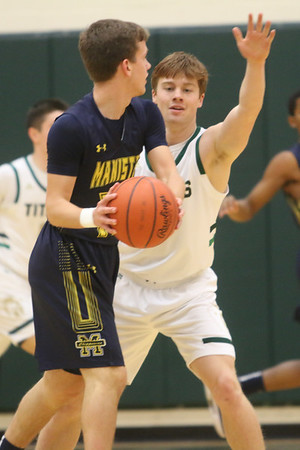 Basketball: Manistee @ TC West, Jan. 21, 2020