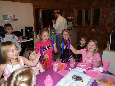 Mikenna's 8th Birthday