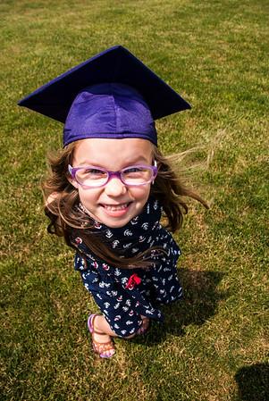 Emmalee's Last Day of Kindergarten