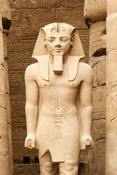 Rameses II At Luxor Temple, Egypt