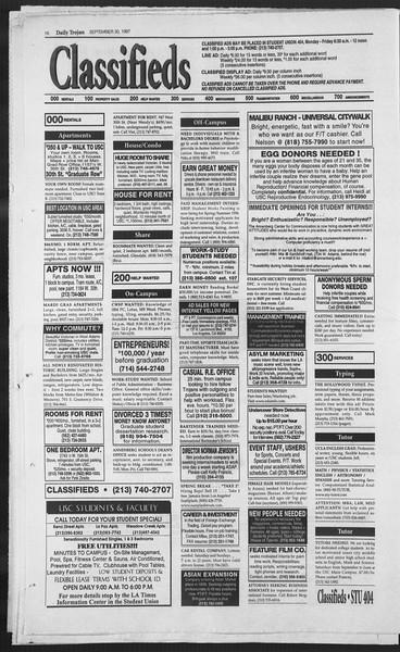 Daily Trojan, Vol. 132, No. 22, September 30, 1997