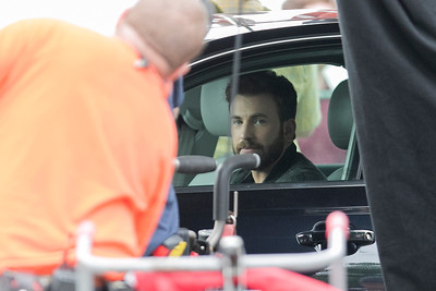 Chris Evans in Leominster, July 18, 2019
