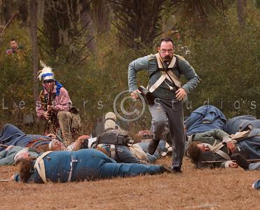Dade Massacre Reenactment 2011