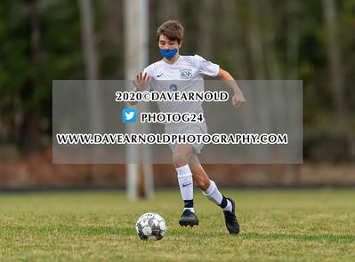 11/11/2020 - Boys JV Soccer - Kennebunk vs Wells