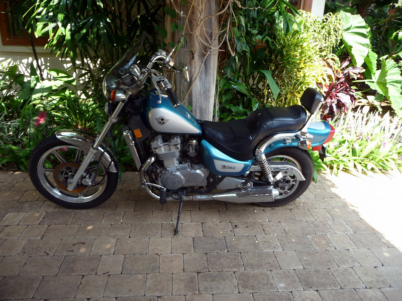 Jame's motorcycle