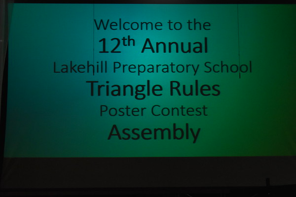 Triangle Rules Poster Contest