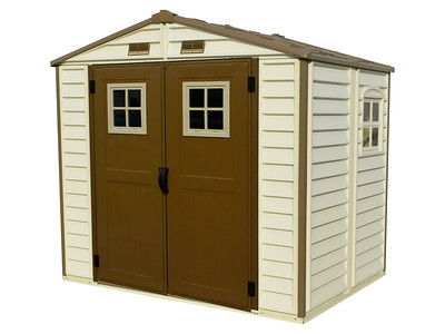 StoreAll 8x6 with windows on door