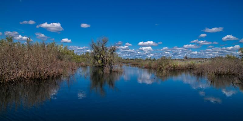 Pot Holes Reservoir, Eastern Washington