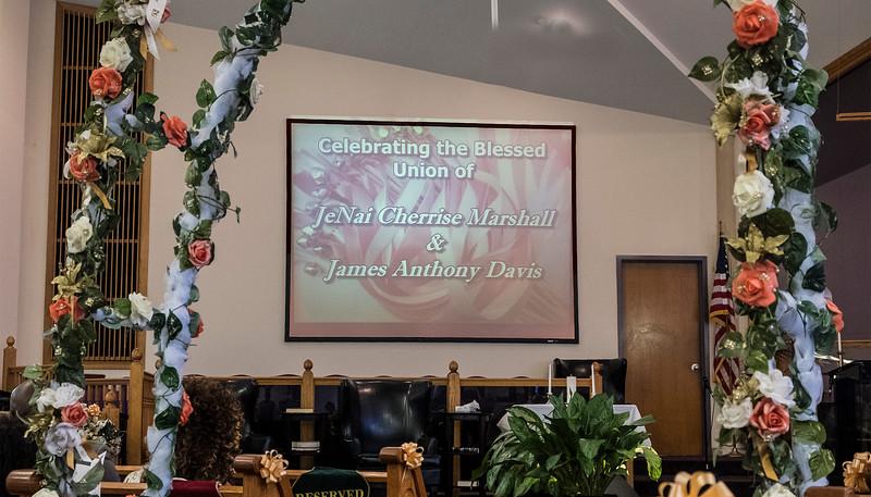 Marshall & Davis Ceremony