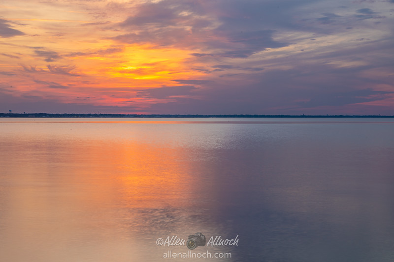 Sunset over Green Cove Springs