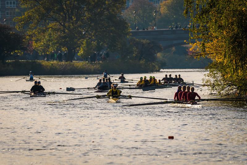 Establishing Shot - This is definitely a regatta