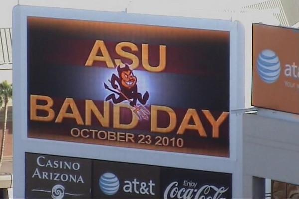 2010-10-23 Performance ASU Band Day