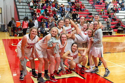 Girls Varsity Basketball - 2/25/2020 Tri County (Parents Night)