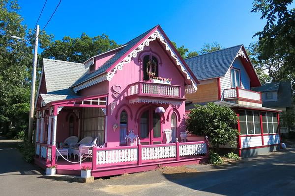 Gingerbread houses Martha Vineyard, Massachusetts - July, 2014