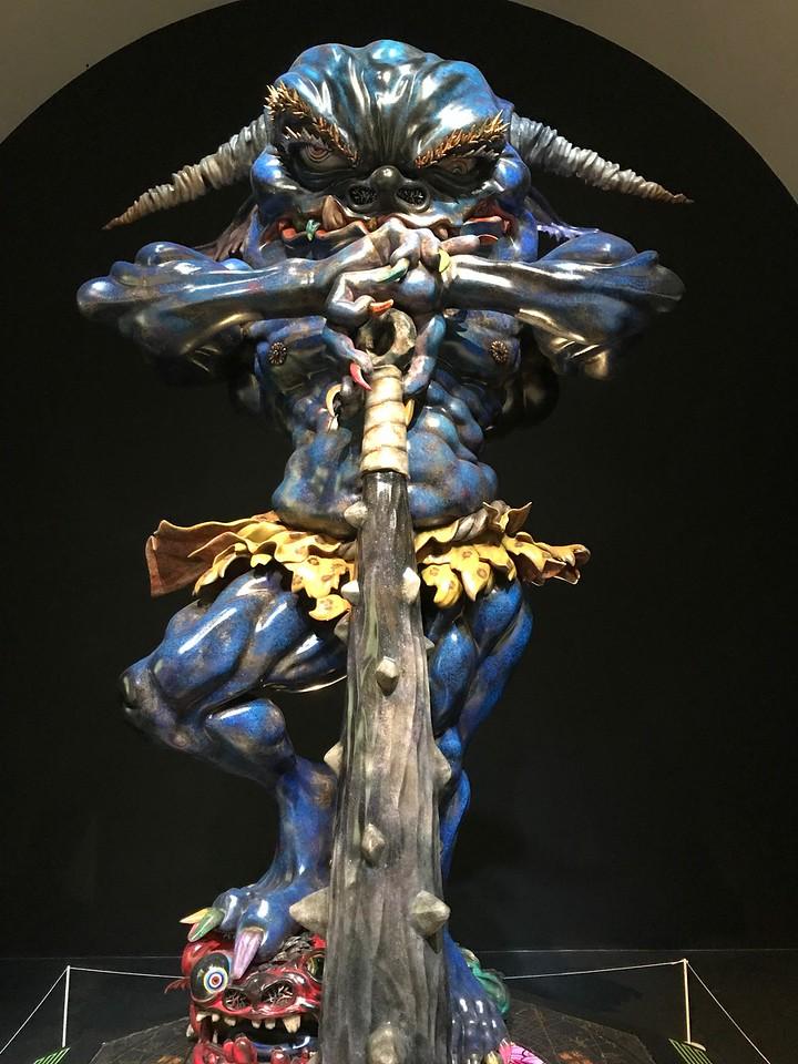 2017-07-18 - Art Museum Takashi Blue Oni