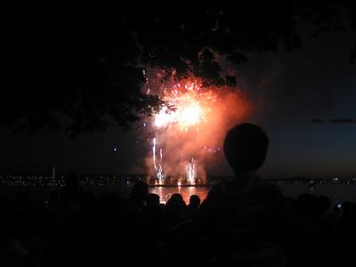 Vancouver 2006 Fireworks