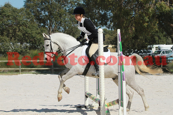 2012 08 25 Horsemens Pony Club 50th Anniversary ODE ShowJumping E Grade