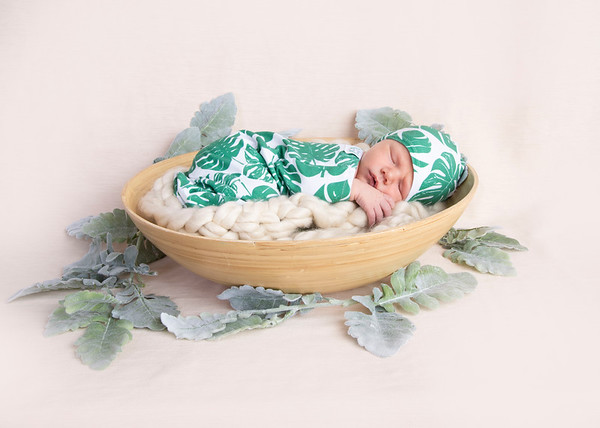 Parker Newborn Session (Egan Family 2018)