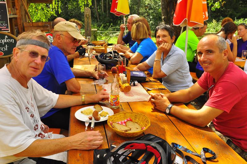 Brot und Wurst...lunch of champions