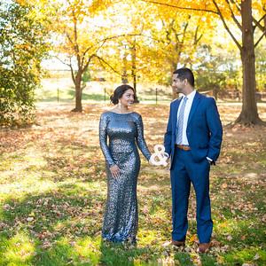 Jisha & George's Engagement Portraits