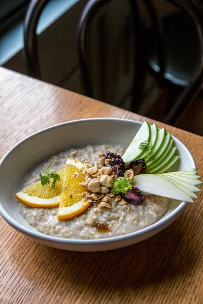 Oatmeal at Saint Helens Brunch at Seattle, WA