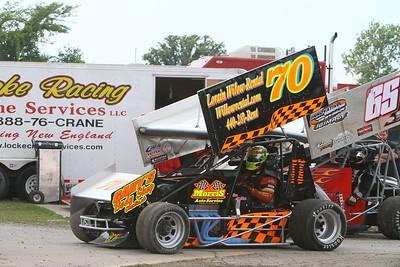 ISMA Hy-Miler 100, Sandusky Speedway, Sandusky, OH, July 24, 2010