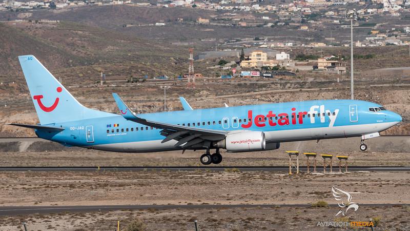 JetairFly / Boeing B737-8K5 / OO-JAQ