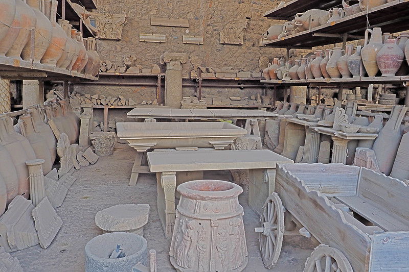 A shop in Pompeii