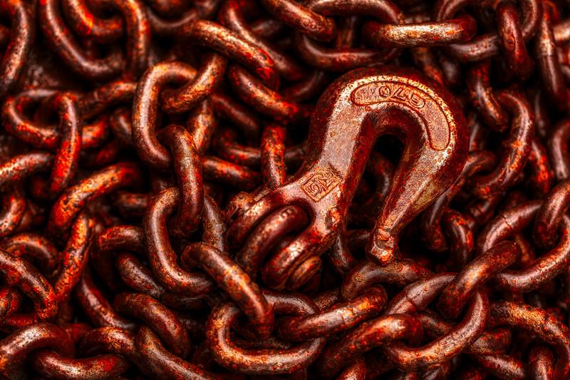 Chain and Hook, Saratoga, California, 2010