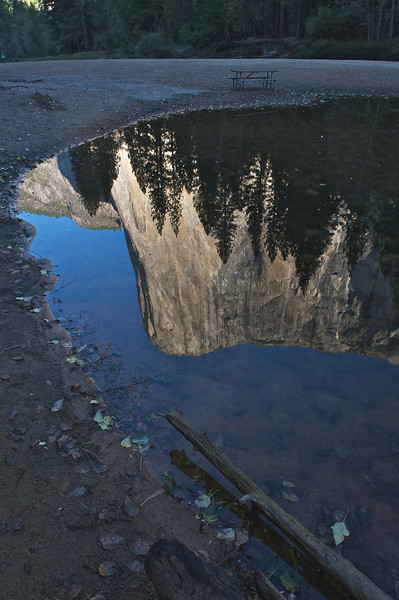 El Capitan Reflection, Yosemite National Park, California